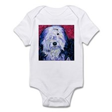 Old English Sheepdog Infant Bodysuit
