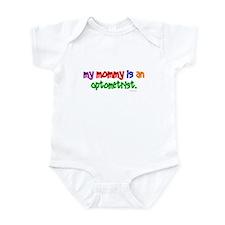 My Mommy Is An Optometrist Infant Bodysuit