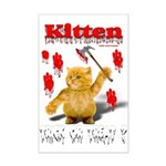 Kitten Trick or Treat ? Mini Poster Print