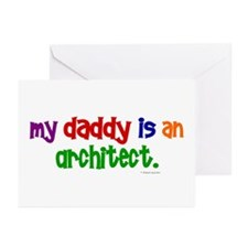 My Daddy Is An Architect Greeting Cards (Pk of 10)