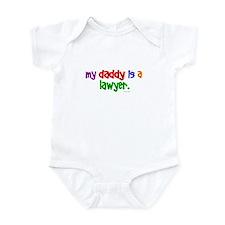 My Daddy Is A Lawyer Infant Bodysuit