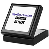 Worlds Greatest FASHION STYLIST Keepsake Box