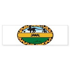 JAMAL - safari Bumper Bumper Sticker
