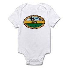 JAMAL - safari Infant Bodysuit
