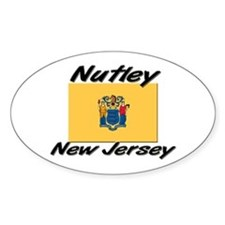 Nutley New Jersey Oval Decal