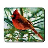 Cardinal Original Photograph Mousepad
