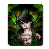 EMERALD ROSE GARDEN Mousepad