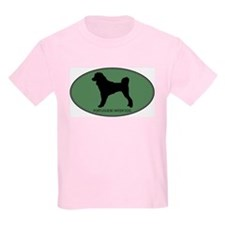 Portuguese Water Dog (green) T-Shirt