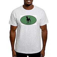 Parsons Terrier (green) T-Shirt