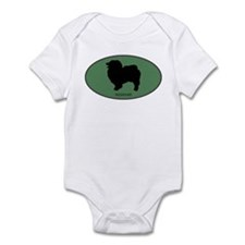 Keeshound (green) Infant Bodysuit
