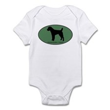 Parson Russell Terrier (green Infant Bodysuit