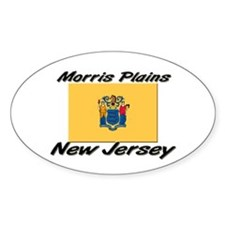 Morris Plains New Jersey Oval Decal