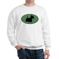 Scottish Terrier (green) Sweatshirt