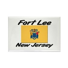 Fort Lee New Jersey Rectangle Magnet