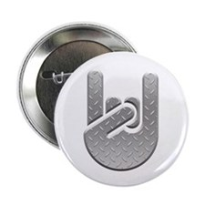 "Metal Salute 2.25"" Button (100 pack)"