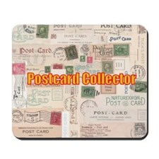 Postcard Collector Mousepad