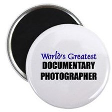 "Worlds Greatest DOCUMENTARY PHOTOGRAPHER 2.25"" Mag"
