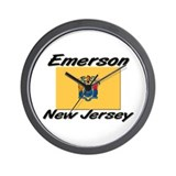 Emerson New Jersey Wall Clock
