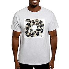 King Snake Ash Grey T-Shirt