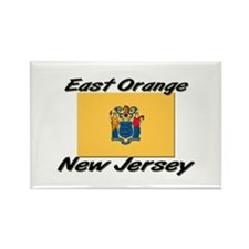 East Orange New Jersey Rectangle Magnet