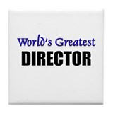 Worlds Greatest DIRECTOR Tile Coaster