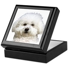 Fifi the Bichon Frise Keepsake Box