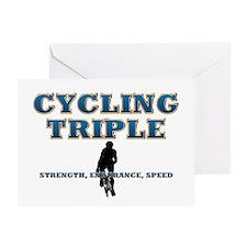 TOP Cycling Slogan Greeting Card