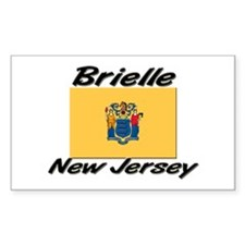 Brielle New Jersey Rectangle Decal