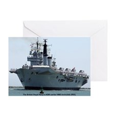 HMS Invincible Greeting Cards (Pk of 20)