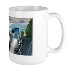 Truck Driver Guardian Angel Mug