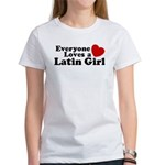 Everyone Loves a Latin Girl Women's T-Shirt