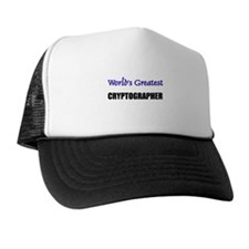 Worlds Greatest CRYPTOGRAPHER Trucker Hat