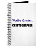 Worlds Greatest CRYPTOGRAPHER Journal