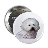 "Funny Small paws 2.25"" Button (100 pack)"