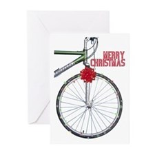 Bicycle Christmas Cards (Pk of 10)