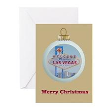 Las Vegas Ornament Christmas Cards 10