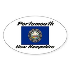 Portsmouth New Hampshire Oval Decal