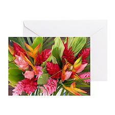Flower Bouquet Anniversary Card