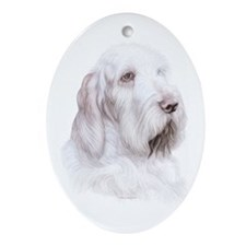 Italian Spinone Italiano Oval Ornament
