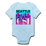 Seattle CSI Infant Bodysuit