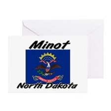 Minot North Dakota Greeting Cards (Pk of 10)