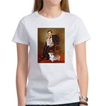 Lincoln's 2 Corgis (Pem) Women's T-Shirt