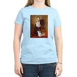 Lincoln's 2 Corgis (Pem) Women's Light T-Shirt