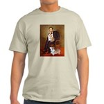 Lincoln's 2 Corgis (Pem) Light T-Shirt