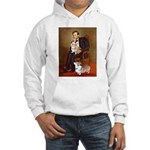 Lincoln's 2 Corgis (Pem) Hooded Sweatshirt