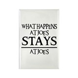 STAYS AT JOE'S Rectangle Magnet (10 pack)