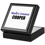 Worlds Greatest COOPER Keepsake Box