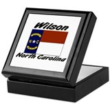 Wilson North Carolina Keepsake Box