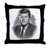 John Fitzgerald Kennedy Throw Pillow
