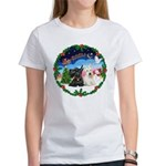 Santa's Take Off (2) = 2 Scotties Women's T-Shirt